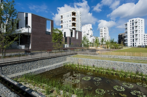 ponds retaining walls asnieres sur seine 2016 SETP